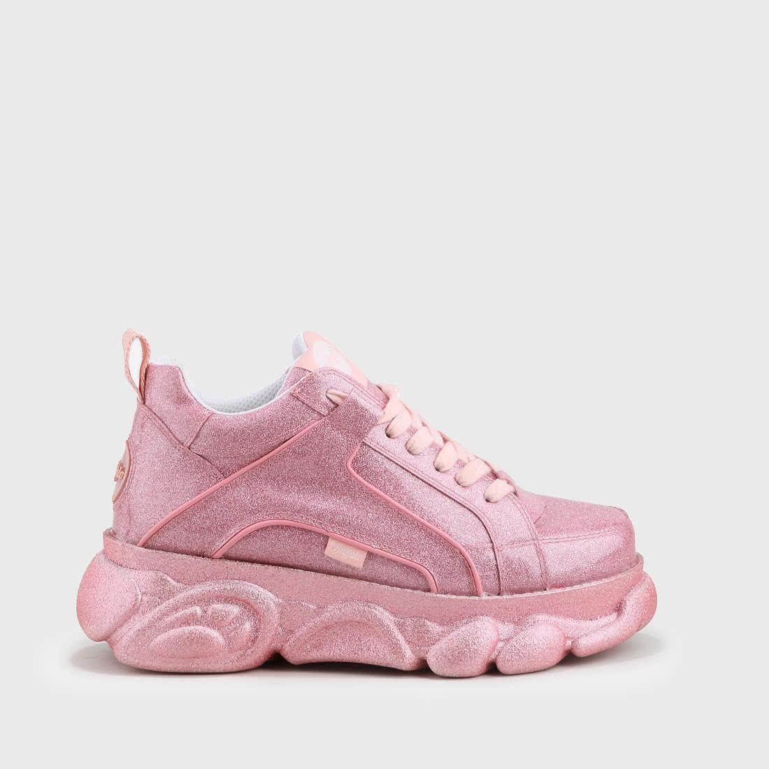 8a3898457a2c CLD Corin sneaker glitter pink buy online in BUFFALO Online-Shop ...