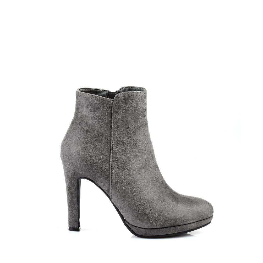 buffalo plateau ankle boots in grey buy online in buffalo online shop buffalo online shop. Black Bedroom Furniture Sets. Home Design Ideas