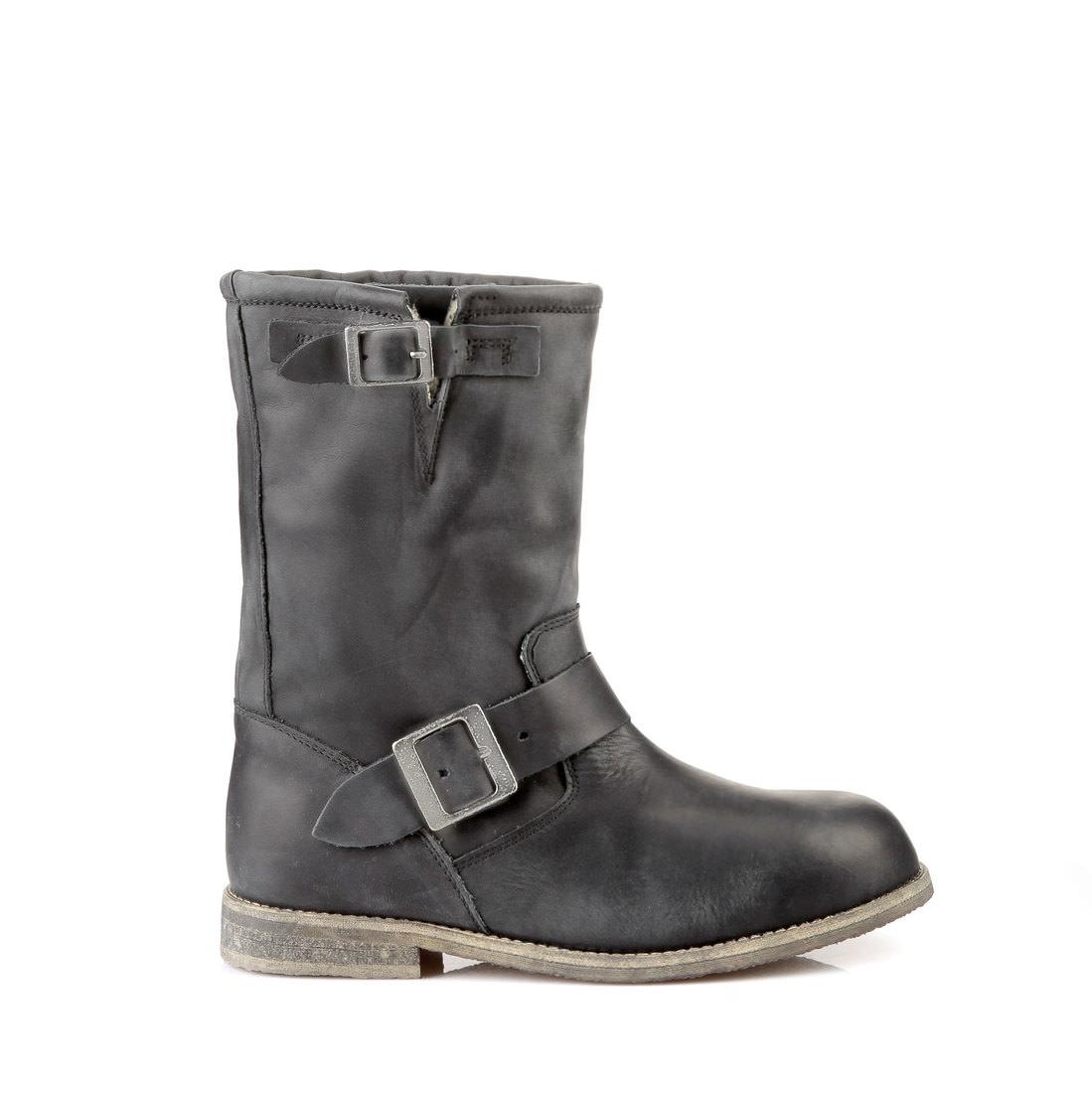 f74f495937eab Lined Buffalo biker boots in black buy online in BUFFALO Online-Shop ...