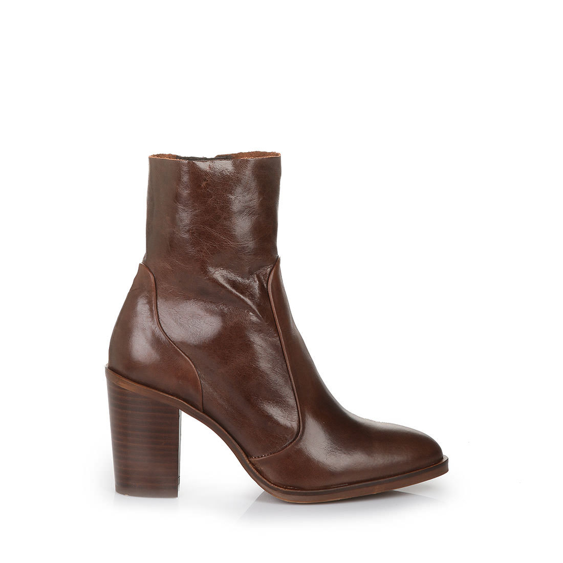 buffalo slim fit ankle boots in russet buy in