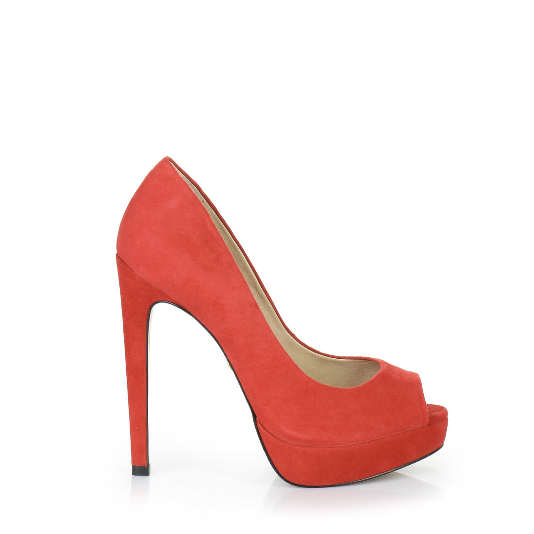 Buffalo London Peep Toe Shoes