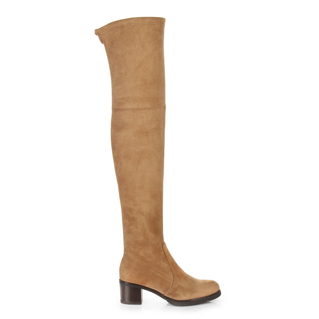 655a7347b05 Buffalo over-the-knee boots in camel buy online in BUFFALO Online ...