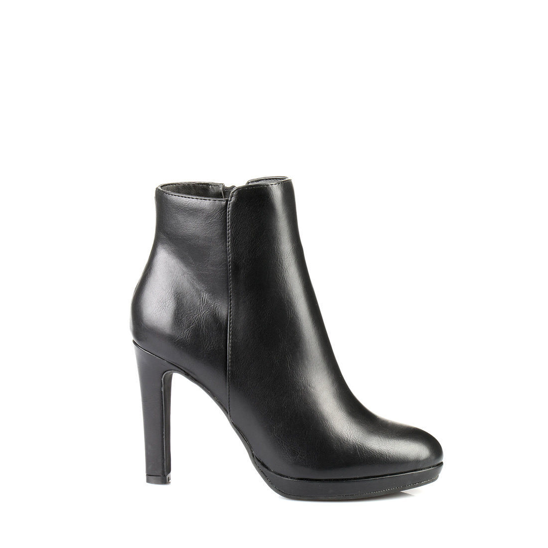 buffalo plateau ankle boots in black buy online in buffalo online shop buffalo online shop. Black Bedroom Furniture Sets. Home Design Ideas