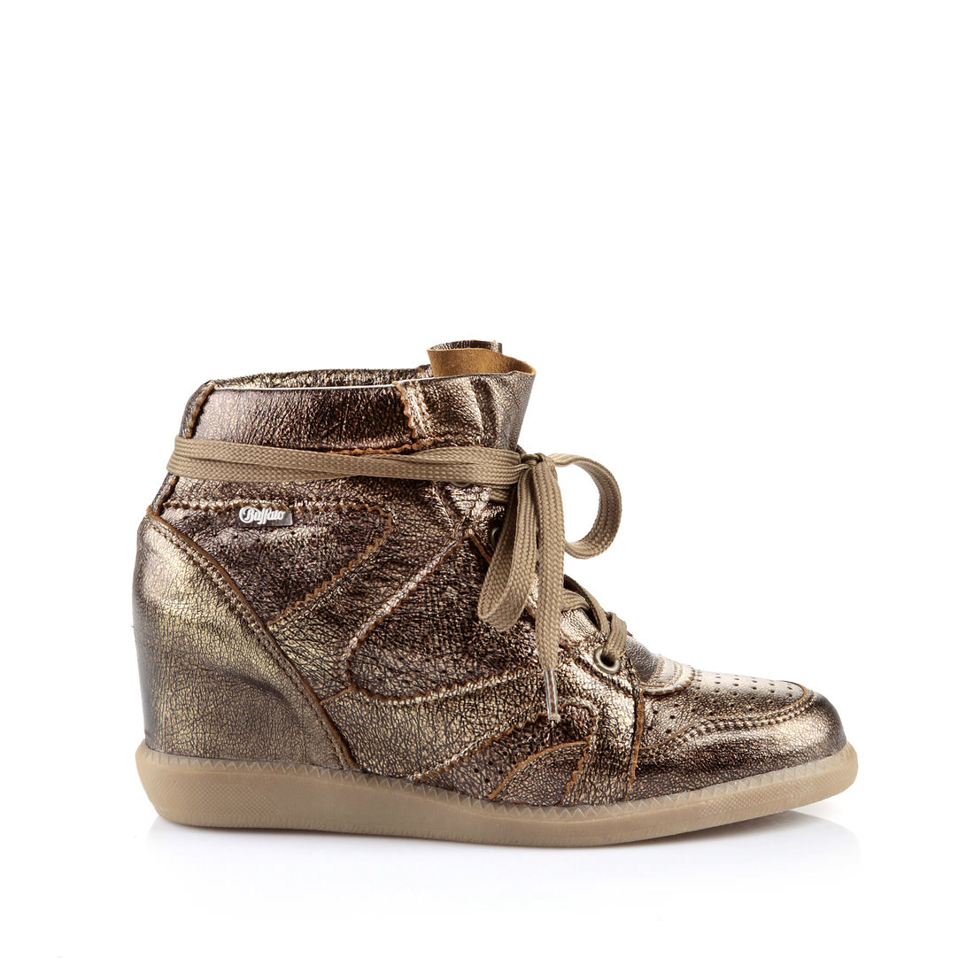 size 40 960b2 82857 Buffalo trainers with a bronze metallic look buy online in ...