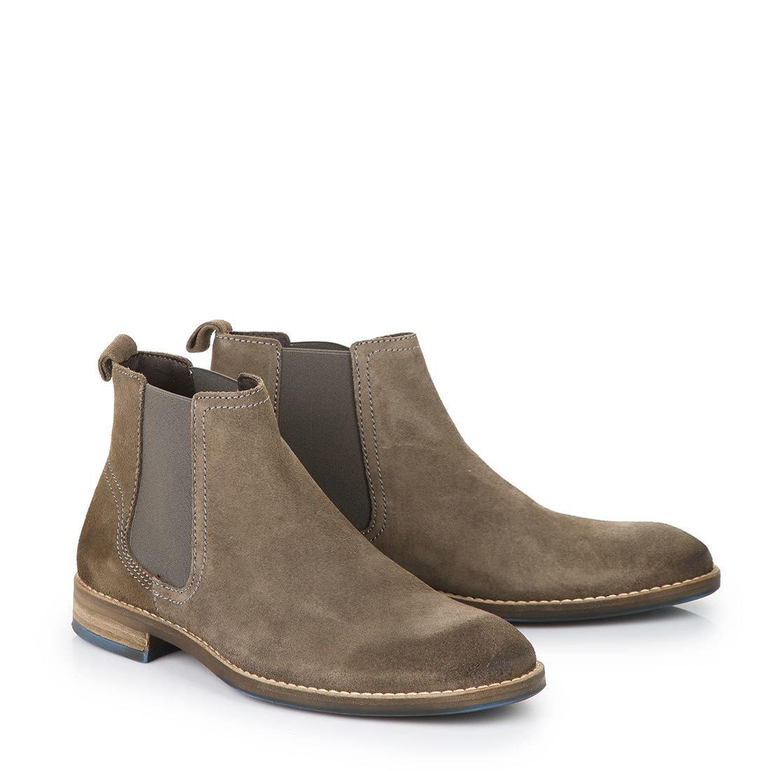 buffalo men s chelsea boots in grey buy online in buffalo online shop buffalo. Black Bedroom Furniture Sets. Home Design Ideas