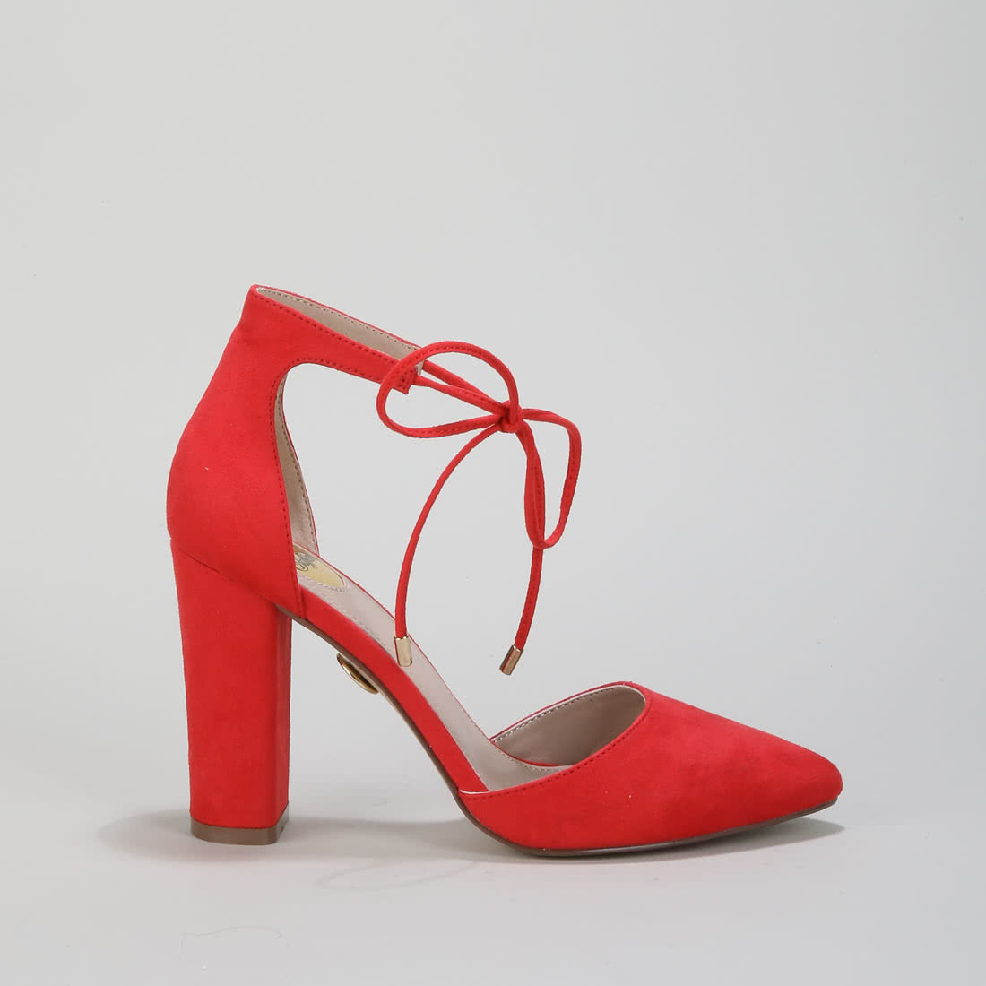 8c7fd0a5fc4326 Belle pumps suede red buy online in BUFFALO Online-Shop