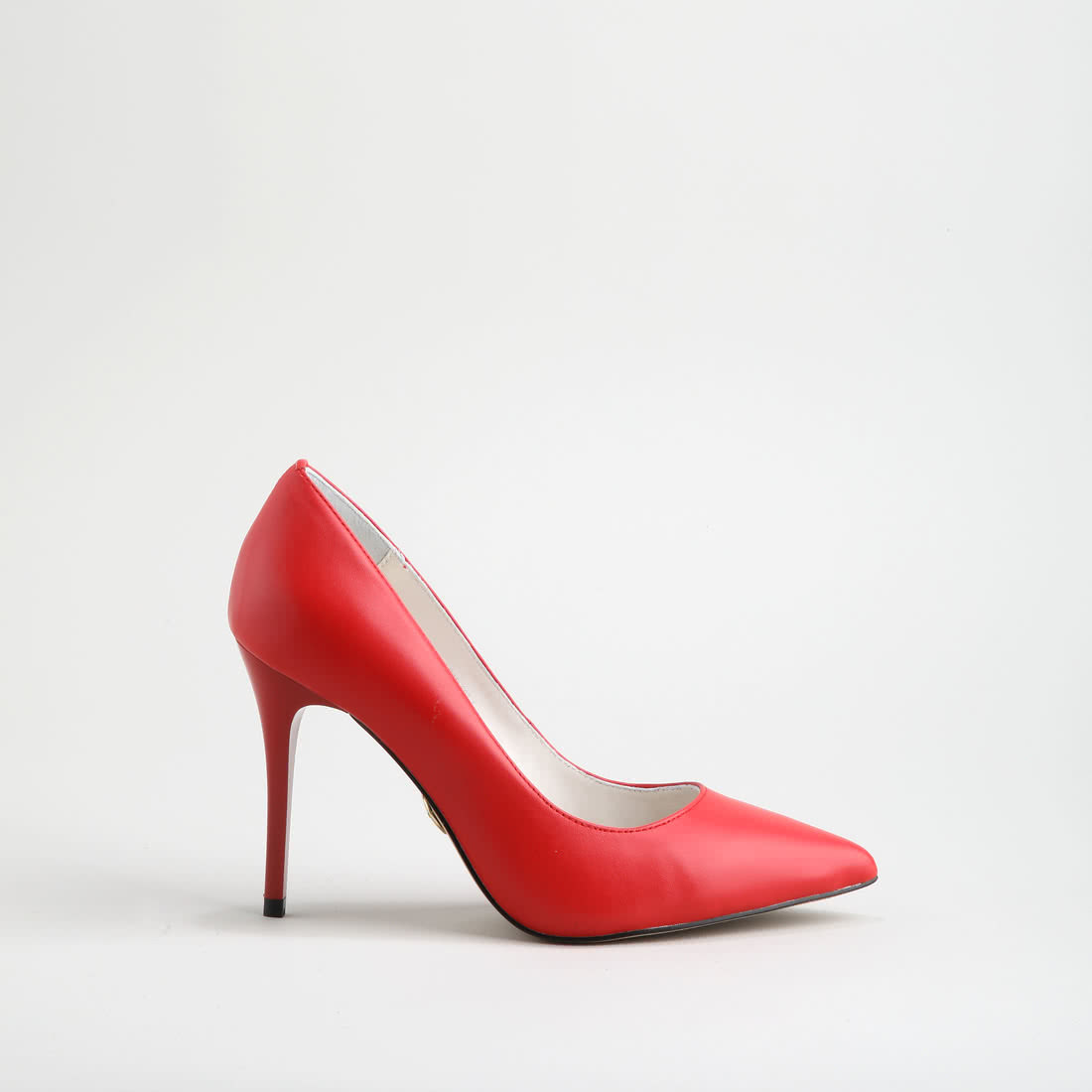 69f38b9623bc Buffalo pointy pumps leather 9 cm red buy online in BUFFALO Online ...