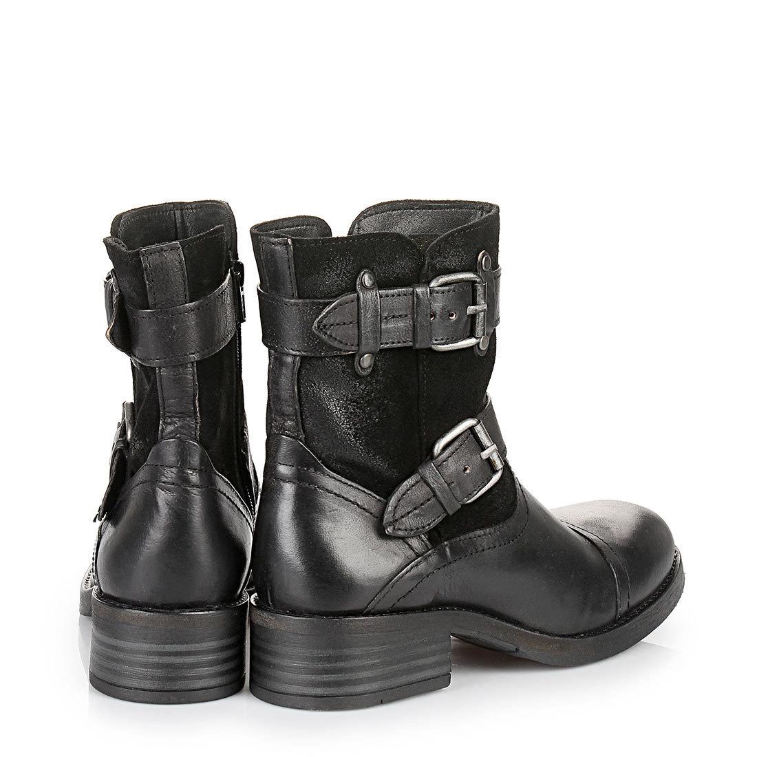 Buffalo biker boots in black buy online in BUFFALO Online
