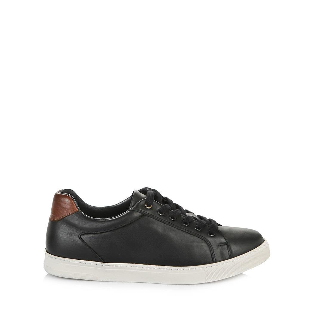 huge selection of a3995 015ac Buffalo Herren-Sneaker in schwarz mit weißer Sohle online ...
