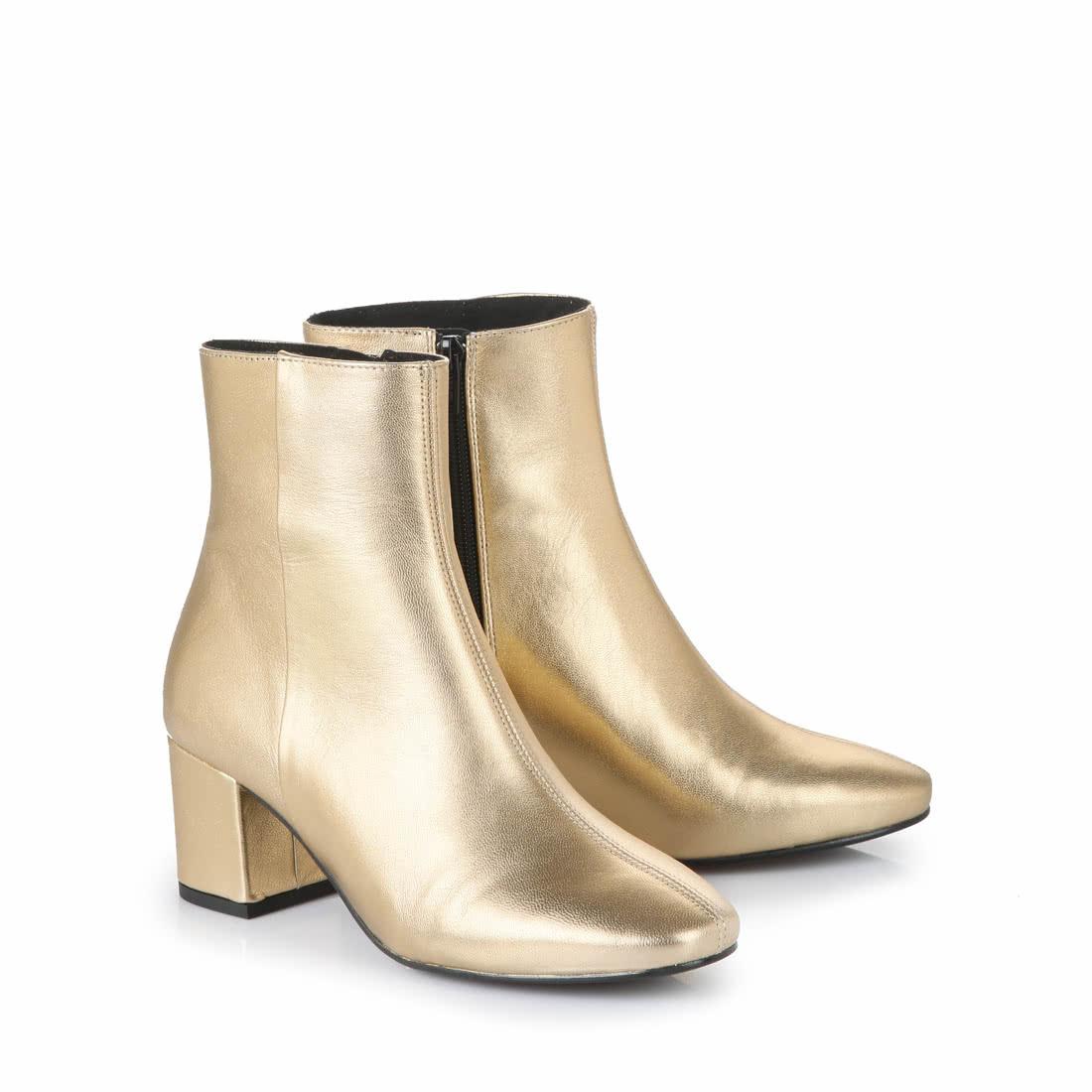 buffalo ankle boots in metallic gold buy online in buffalo online shop buffalo. Black Bedroom Furniture Sets. Home Design Ideas