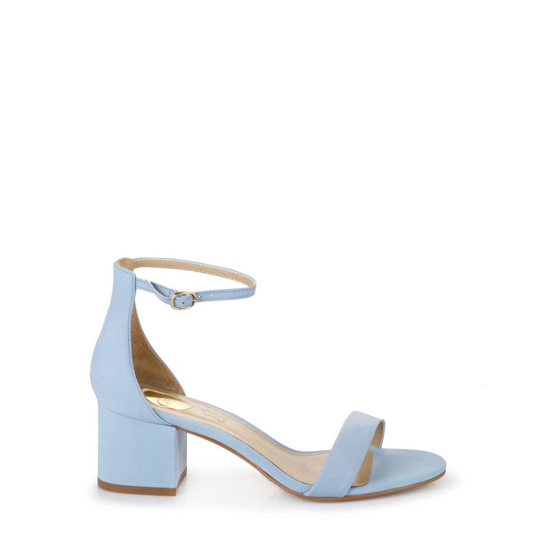 05fe69b03f Buffalo high-heeled sandals in light blue buy online in BUFFALO ...