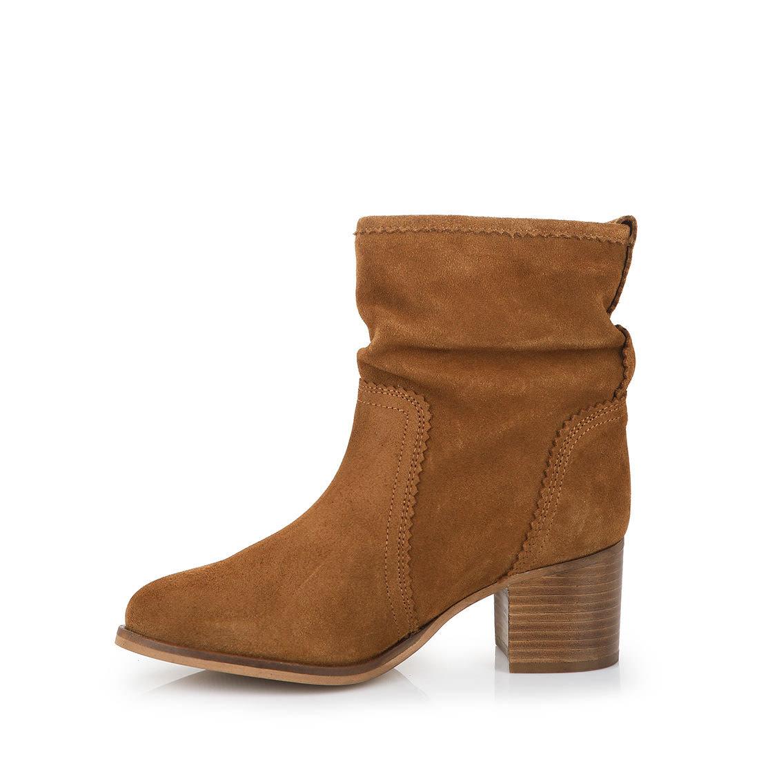 buffalo ankle boots in cognac buy online in buffalo online. Black Bedroom Furniture Sets. Home Design Ideas