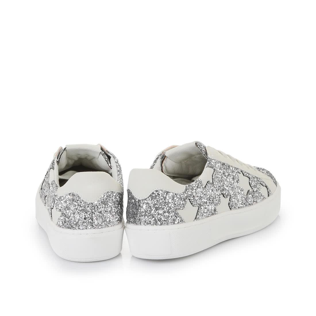 new product 12277 f0d95 Buffalo Plateau-Sneaker in weiß/silber glitzer online kaufen ...