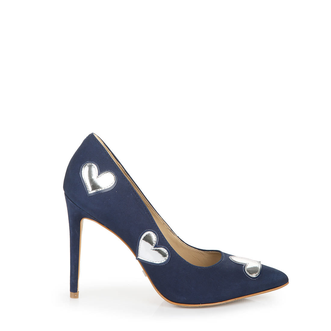 Buffalo heels in blue-silver buy online in BUFFALO Online-Shop ...