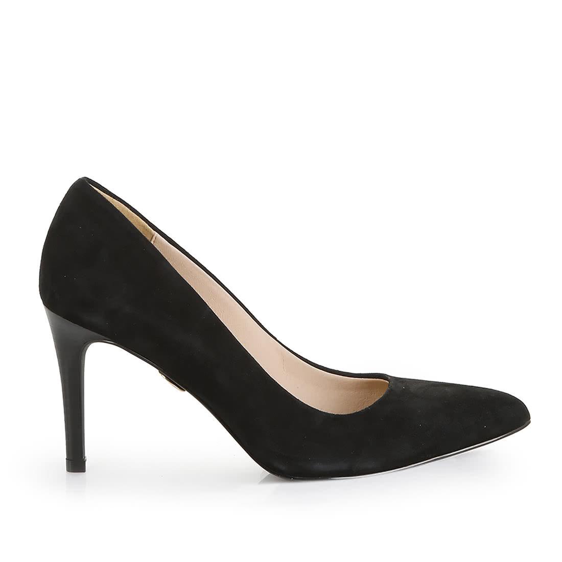 2b5ae3b0e Violet escarpin daim noir acheter à BUFFALO en ligne | BUFFALO®