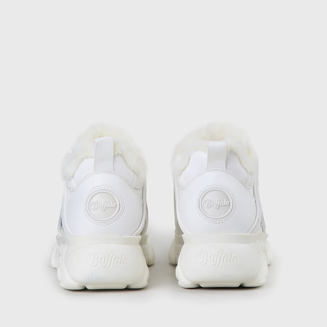 lowest price 2be67 52dca CLD Corin Sneaker faux-leather white fur