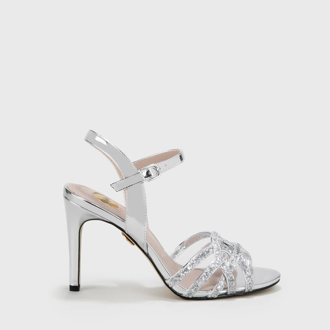 91fc78334e Afterglow sandal metallic silver buy online in BUFFALO Online-Shop ...