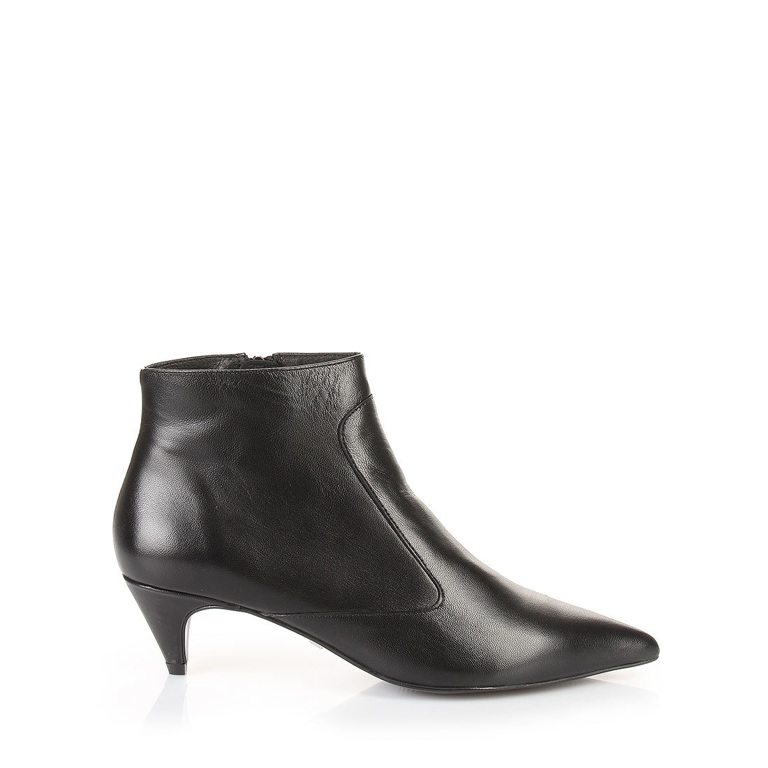 Buffalo kitten heel ankle boots in black buy online in BUFFALO ...