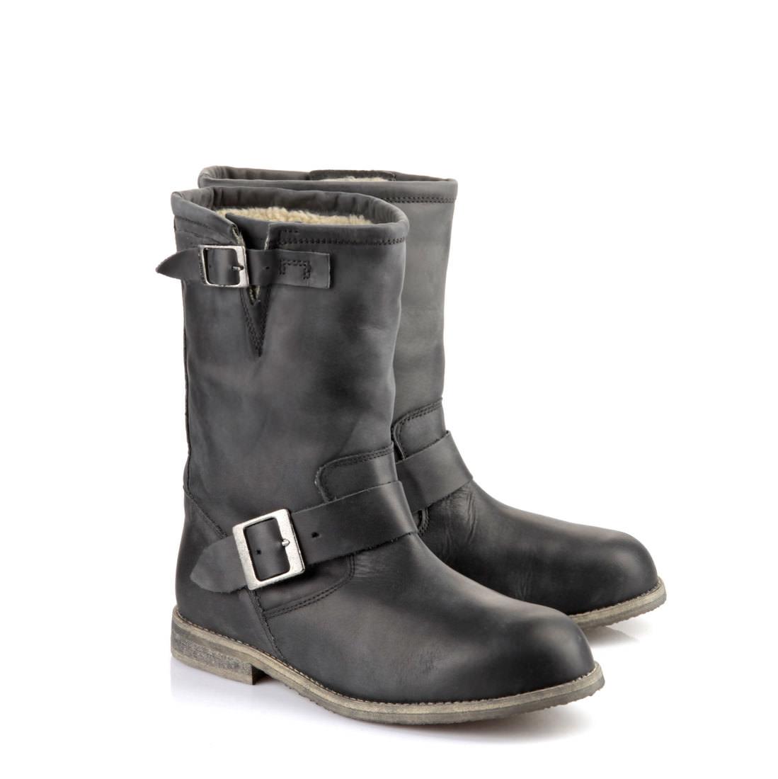 f03f65a8161f Gefütterte Buffalo Biker-Boots in schwarz online kaufen   BUFFALO®
