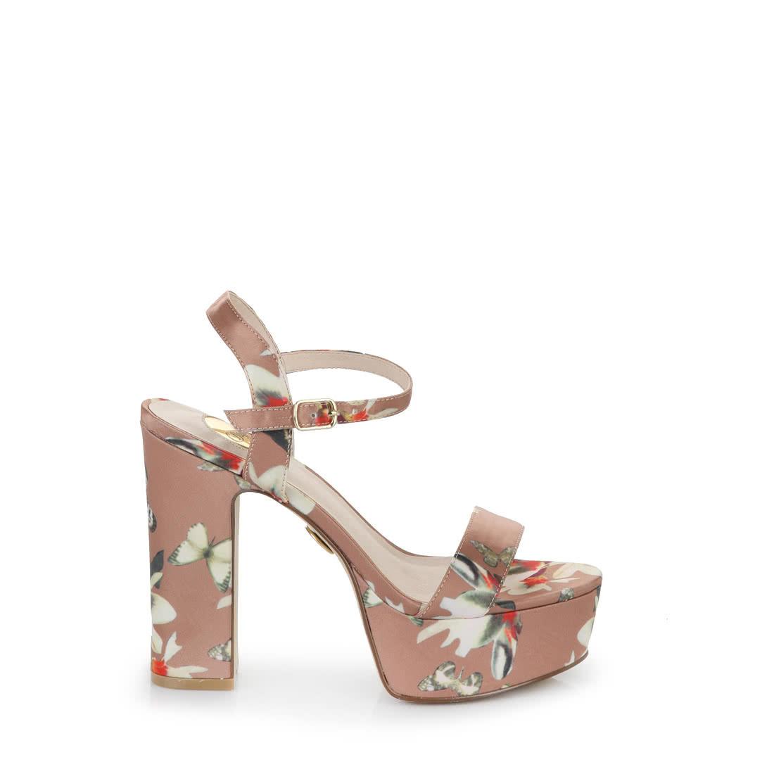 ba3cbb29fb93 Buffalo platform sandals in brown buy online in BUFFALO Online-Shop ...
