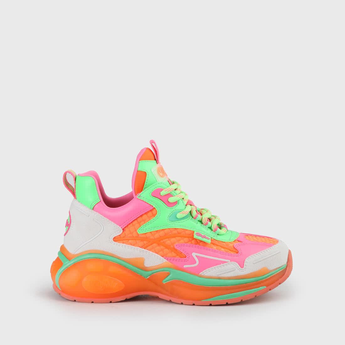 B.NCE S1 Sneaker multi neon