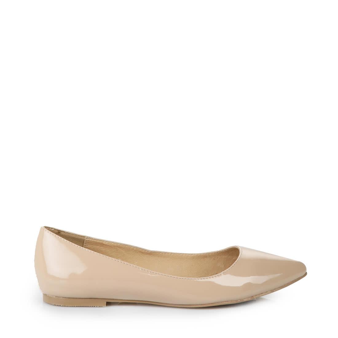 39d85b607084 Buffalo ballerina pumps in beige buy online in BUFFALO Online-Shop ...