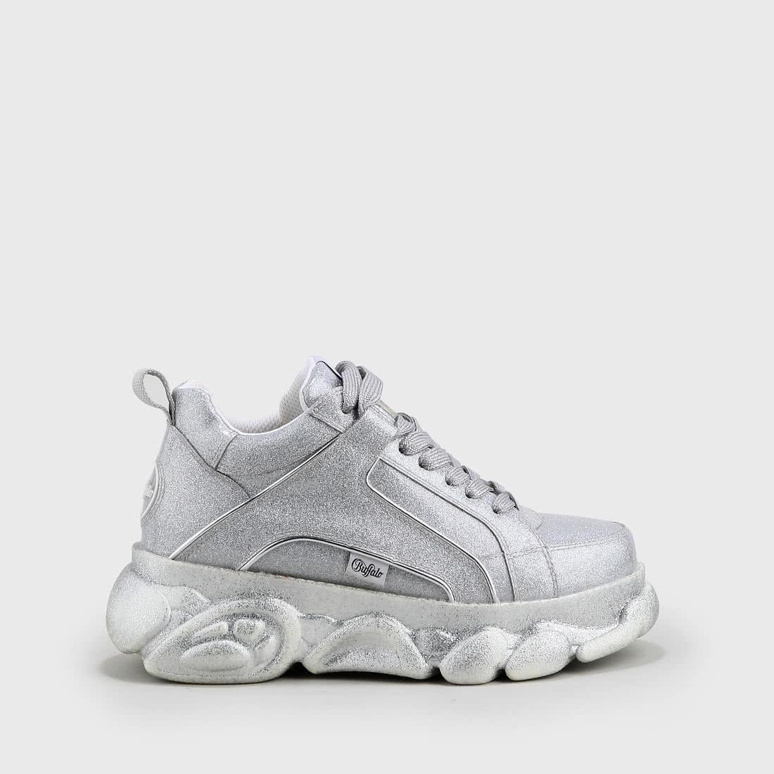 b31db910a79d CLD Corin sneaker glitter silver buy online in BUFFALO Online-Shop ...