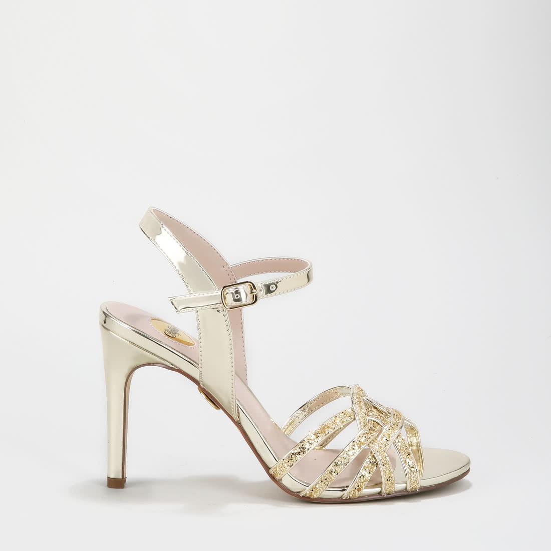 new arrival f1c3e cfef9 Afterglow Sandalette metallic-gold online kaufen | BUFFALO®