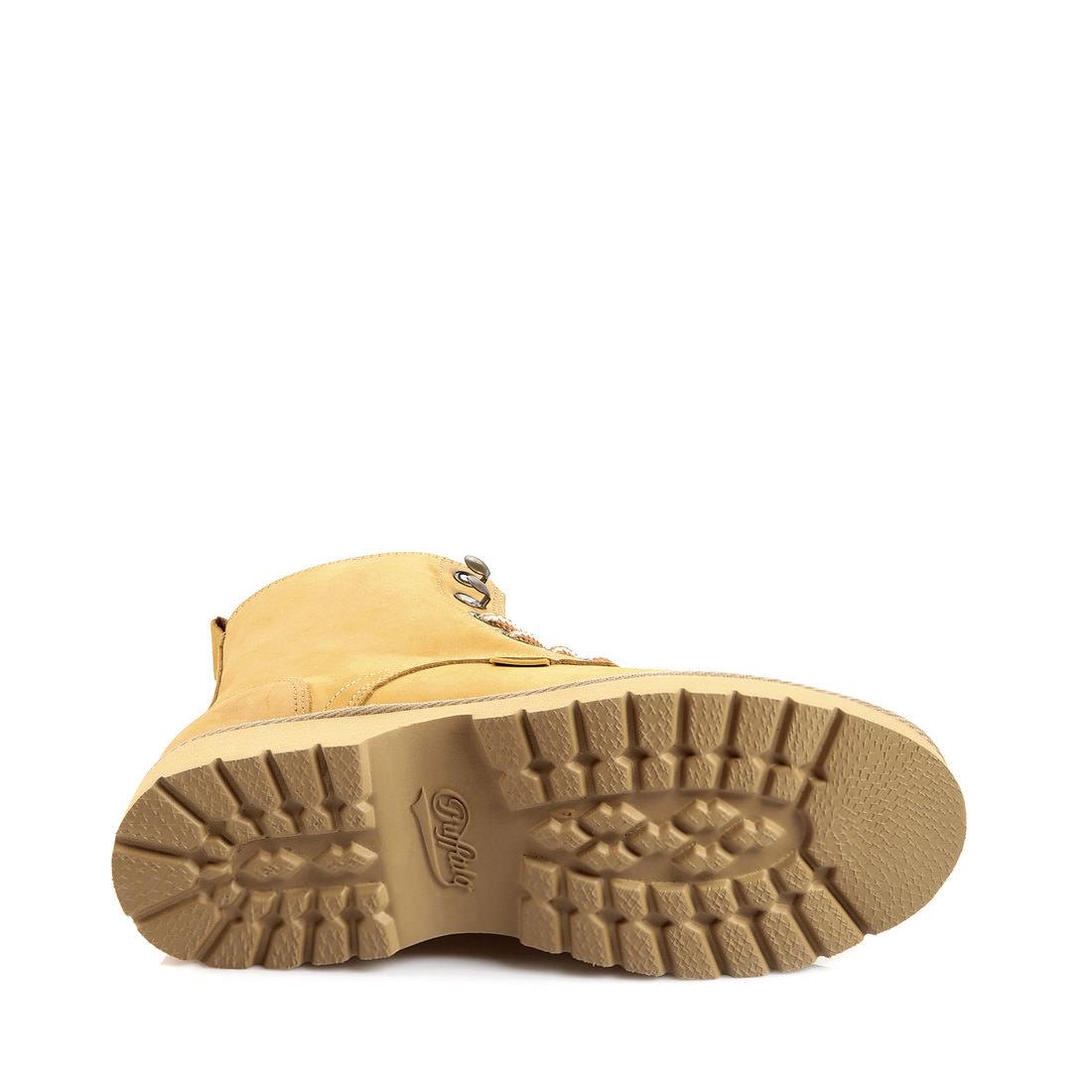 Boots Buffalo en nubuck jaune mielBuffalo