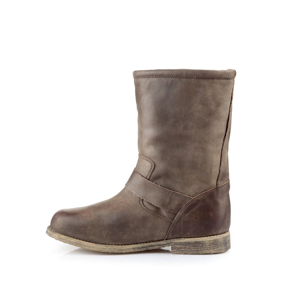 buffalo biker boots in braun mit schnallen online kaufen buffalo. Black Bedroom Furniture Sets. Home Design Ideas