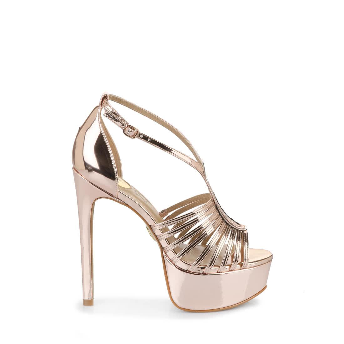 best sneakers 3461c 6710f Buffalo platform sandals in bronze buy online in BUFFALO ...