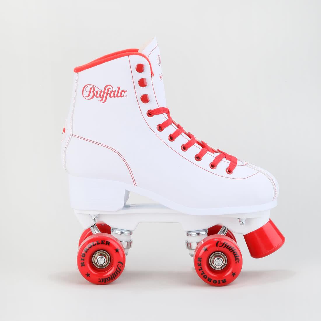 rio roller skates white red buy online in buffalo online. Black Bedroom Furniture Sets. Home Design Ideas