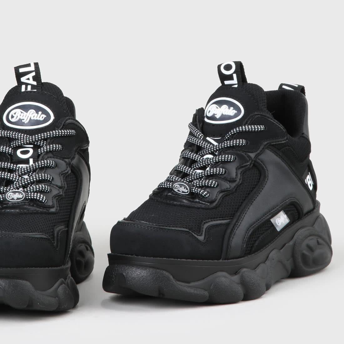 b4203ffa323 CLD Chai Sneaker faux-suede black