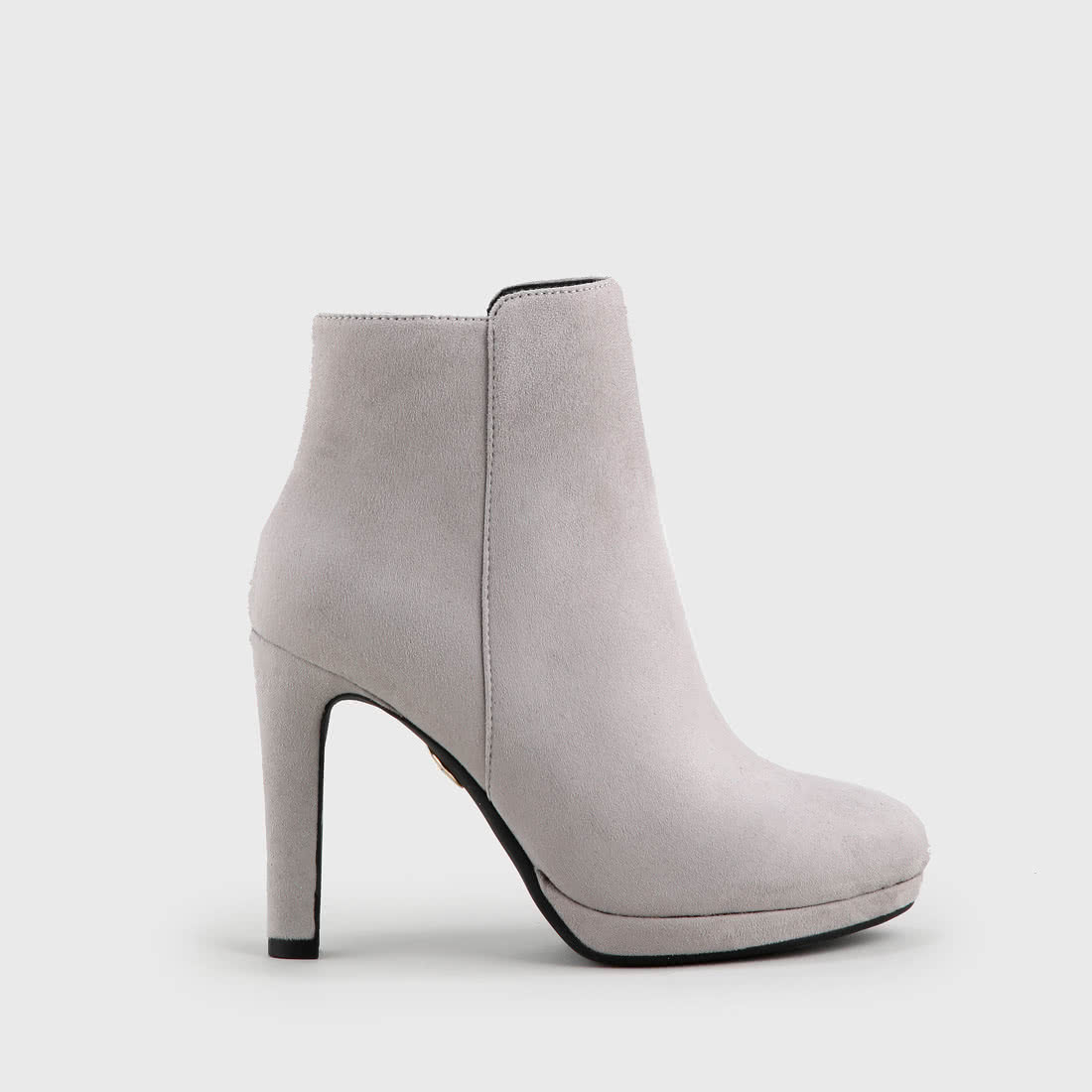 003a7f77ae8 Buffalo ankle boots suede look light grey buy online in BUFFALO ...