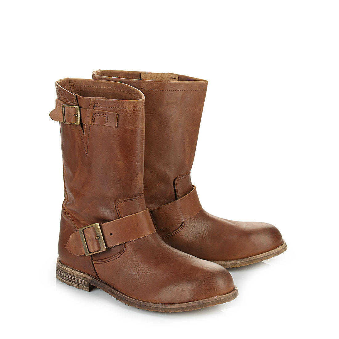 buffalo biker boots in cognac buy online in buffalo online. Black Bedroom Furniture Sets. Home Design Ideas