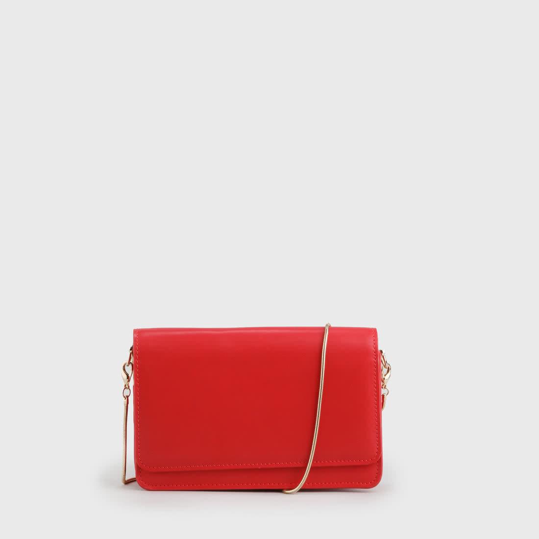 726d98701f976c Chloe Clutch Lackoptik rot online kaufen