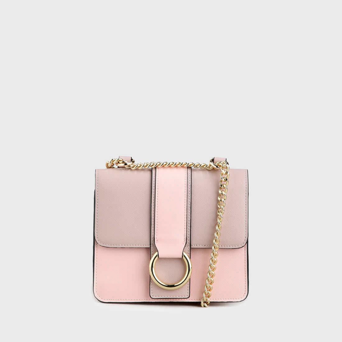 ae5ebbadd Cynthia Crossbody Bag leather look nude pink buy online in BUFFALO ...