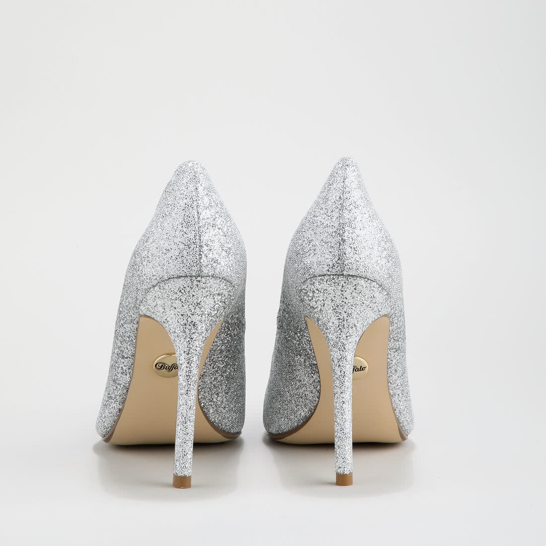 57922472c37a66 Amica party pumps glitter-covered silver buy online in BUFFALO ...