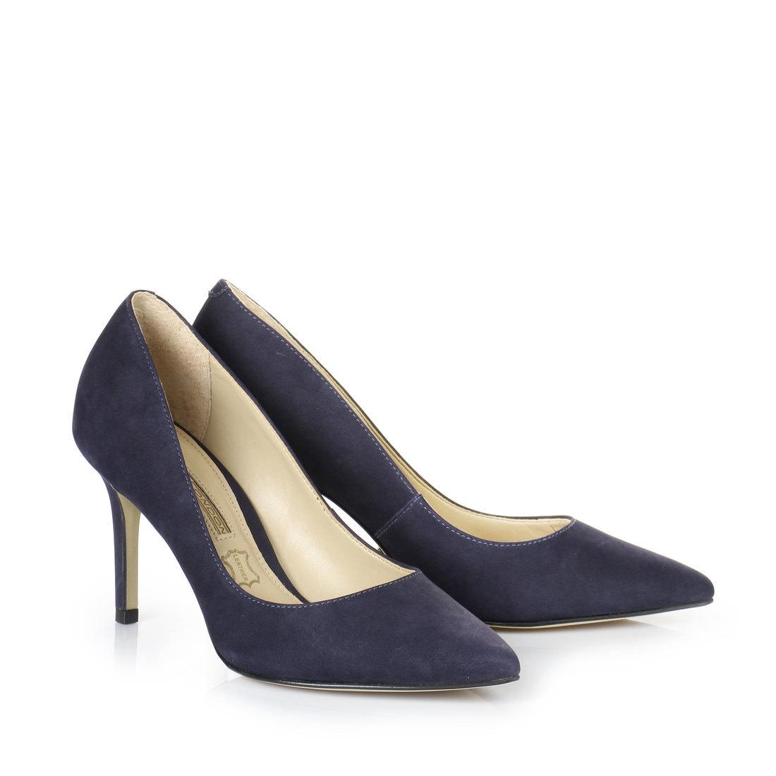 107c4275610d90 Buffalo pumps in dark blue buy online in BUFFALO Online-Shop