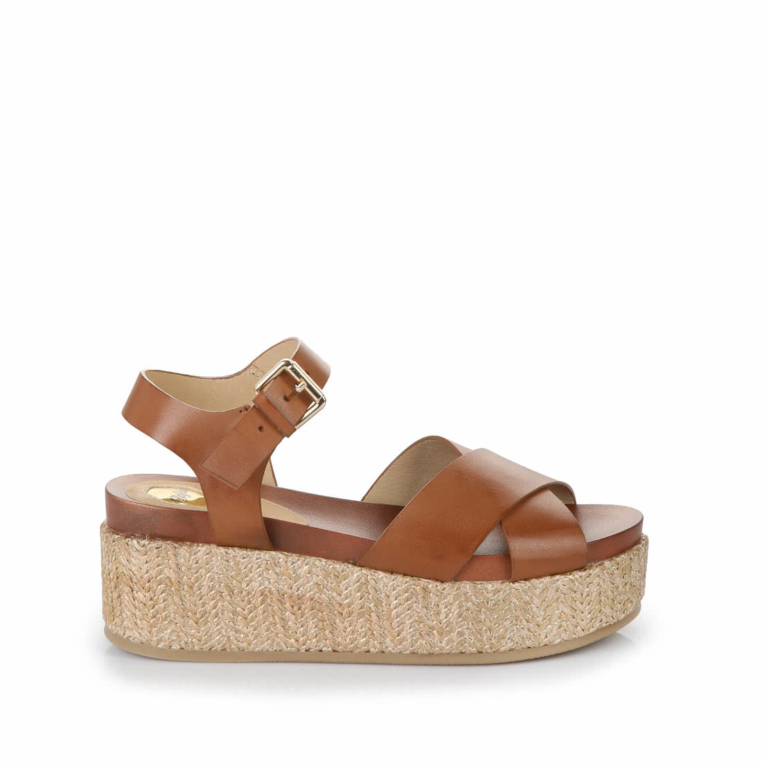 f0a8a97a7b9f Buffalo wedge sandals in cognac buy online in BUFFALO Online-Shop ...