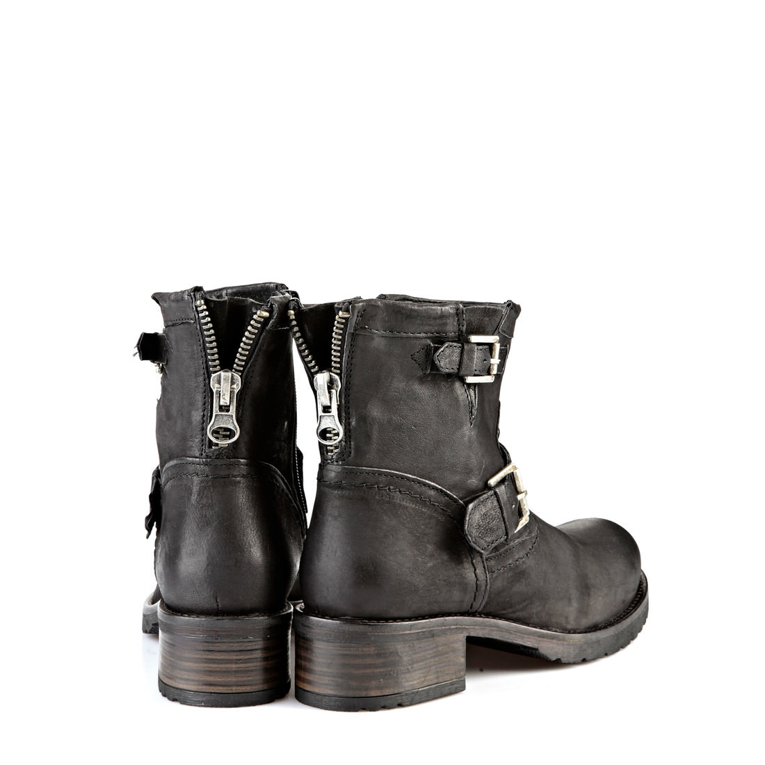 Buffalo biker boots in black buy online in BUFFALO Online-Shop ...
