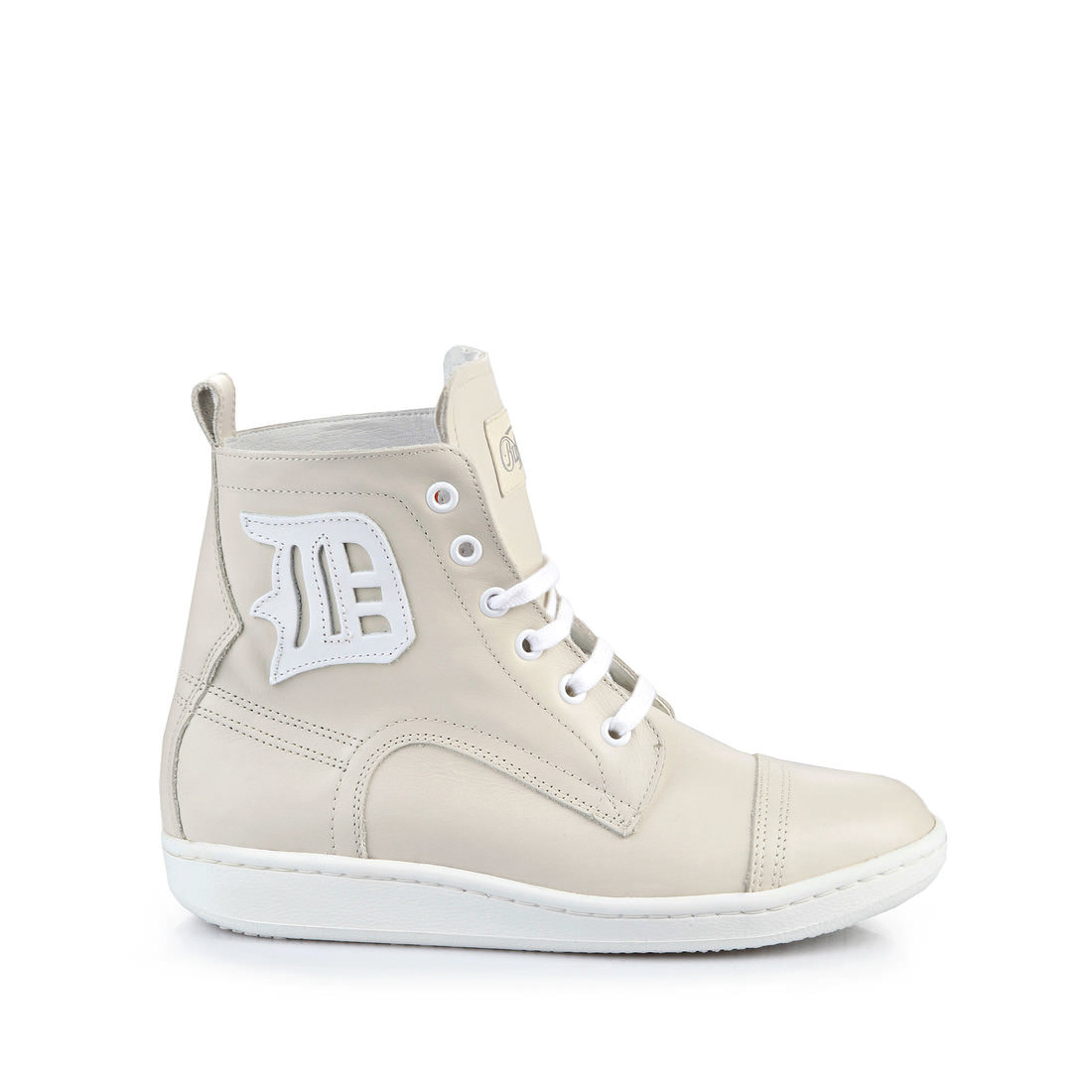 new arrival 08cb1 58d41 Buffalo high-top sneaker leather beige buy online in BUFFALO ...