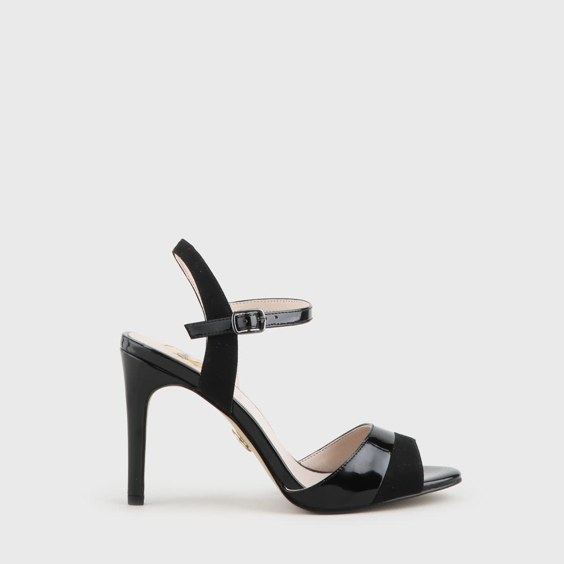 64d13387bf7 Aida Sandal suede lacquer look black buy online in BUFFALO Online ...