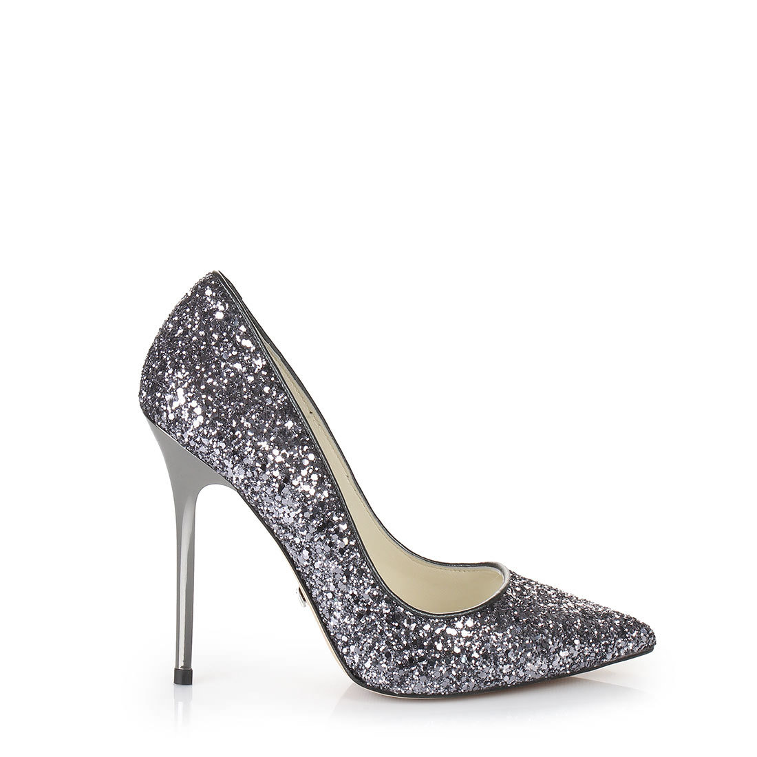Buffalo Silber Metallic Pumps Damen,Buffalo Pumps