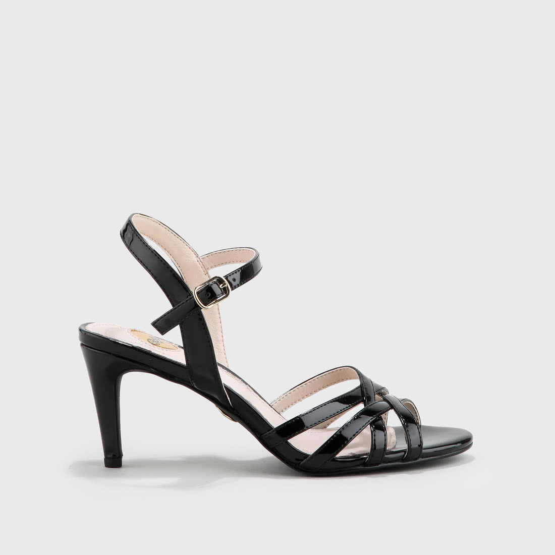 a41110c09e Agneta sandals patent leather look black buy online in BUFFALO ...