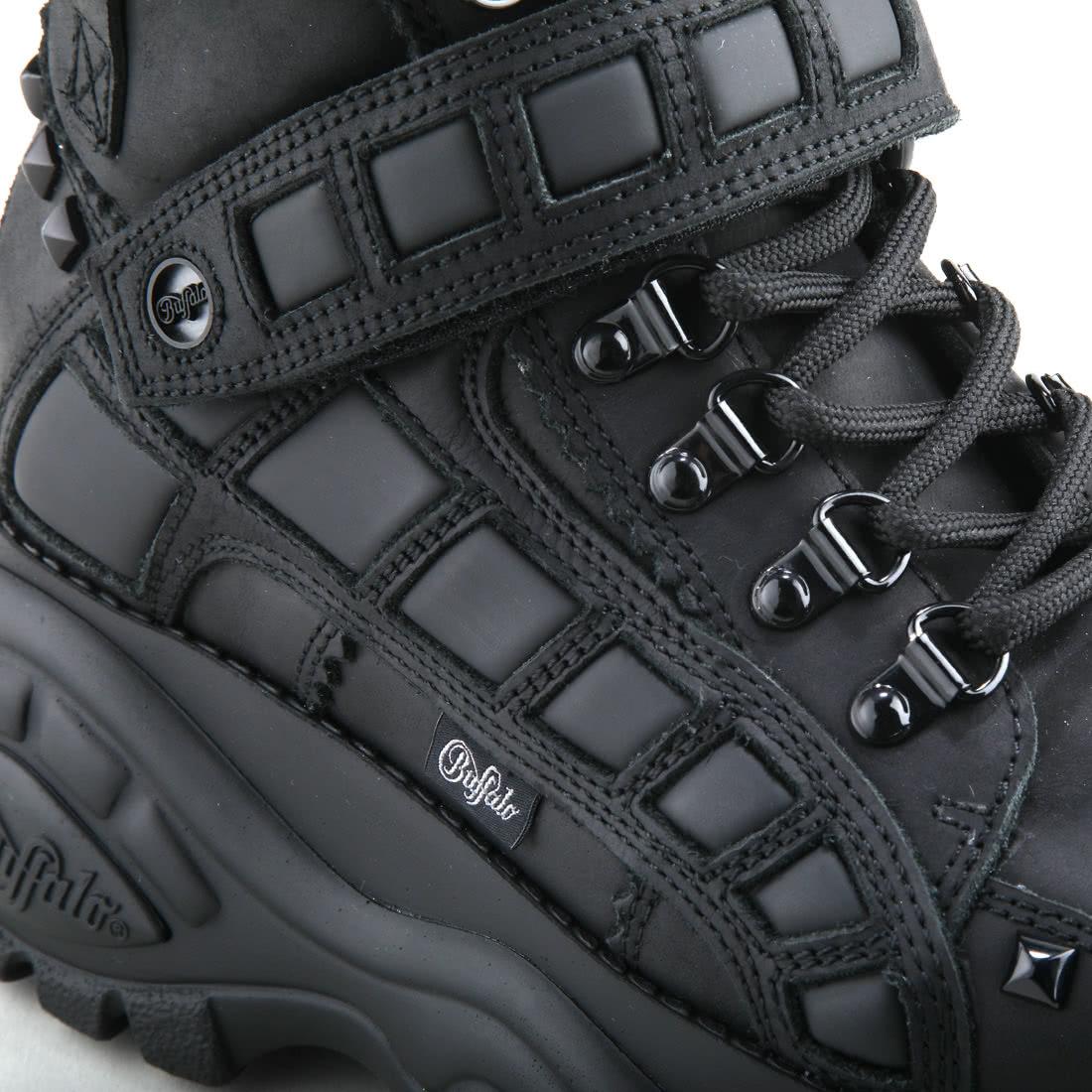 dd598946ff Buffalo Classic Rock 'n' Roll Boot nubuck leather black buy online ...