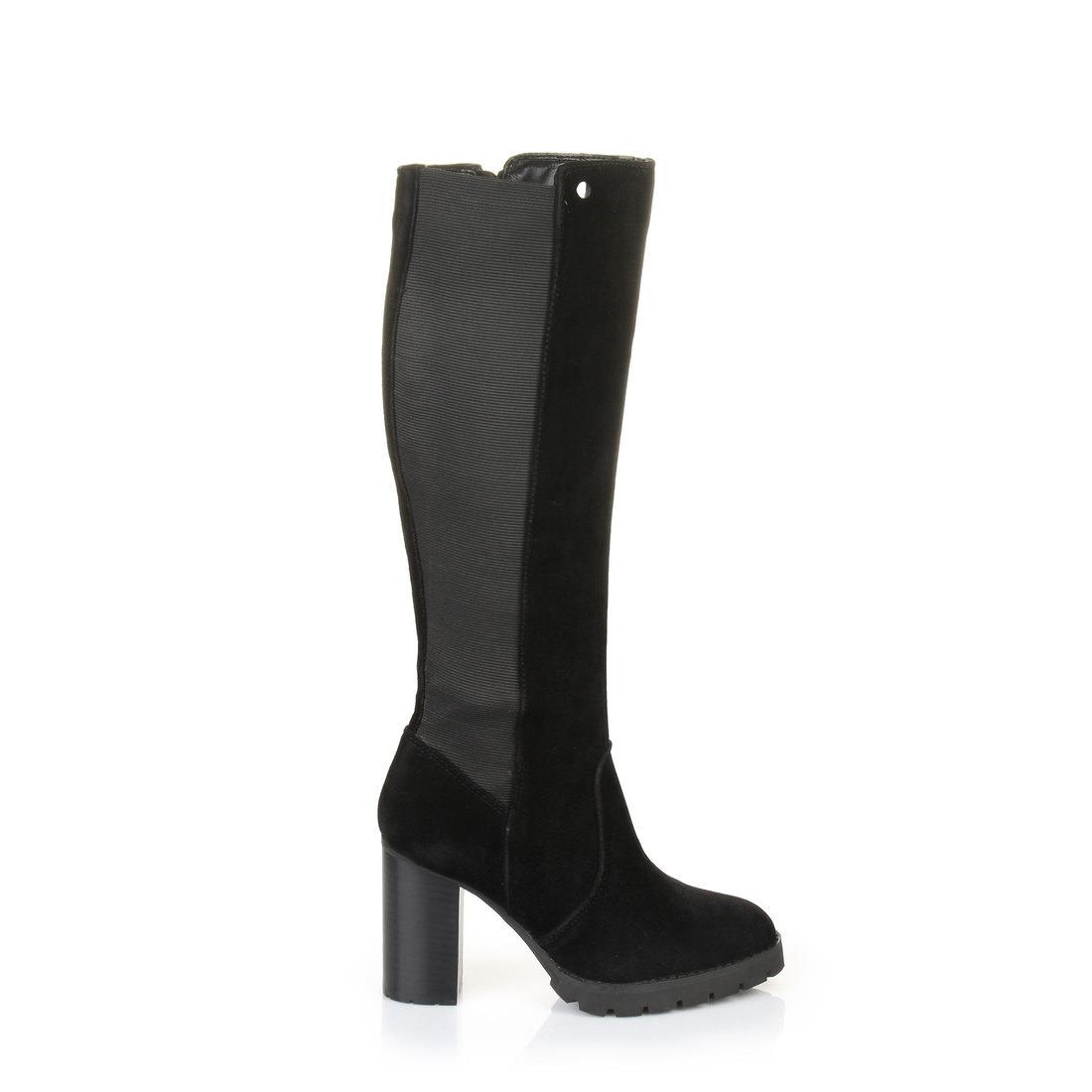 buffalo shoes damen b493c 72 s0019f imi suede stiefel schwarz black 01 37 eu botschaft. Black Bedroom Furniture Sets. Home Design Ideas