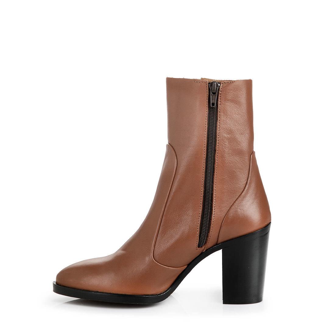 buffalo slim leg ankle boots in brown buy in