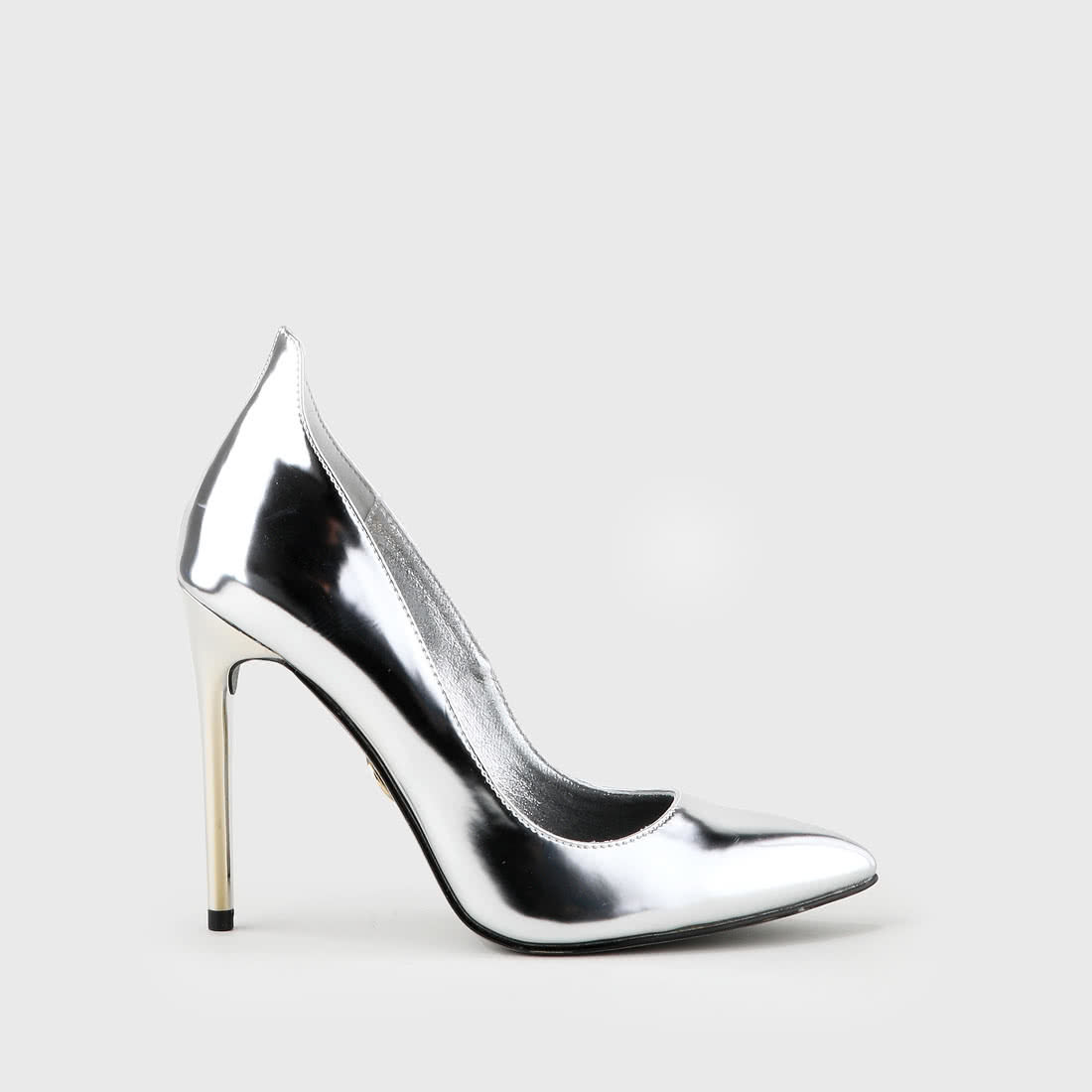 e6c2be40b26 Ana party pumps patent leather look silver buy online in BUFFALO ...