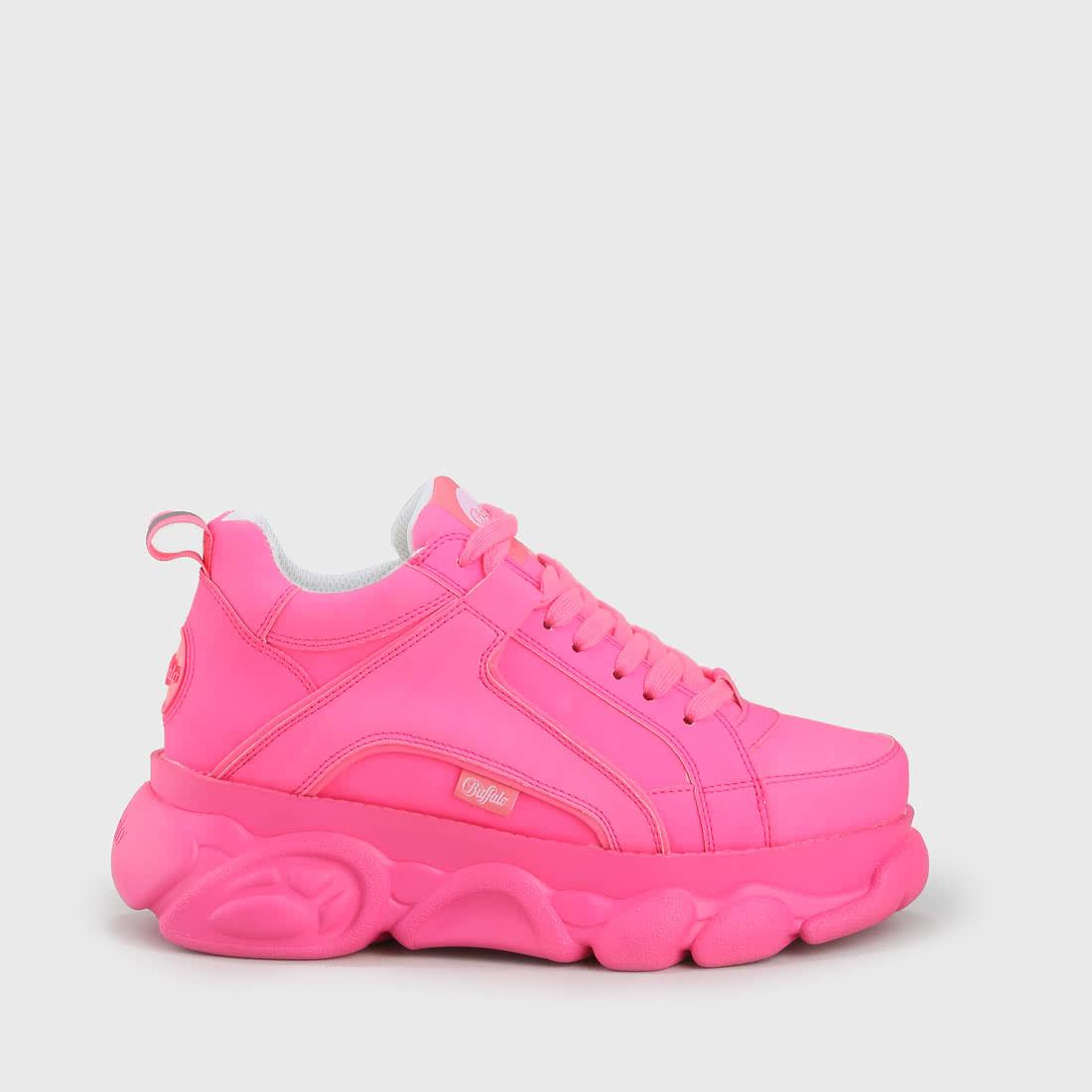 e1f3552b6072 CLD Corin sneaker neon pink buy online in BUFFALO Online-Shop | BUFFALO®